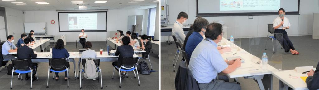 新規事業起案プログラム「MOS Challenging 01」参加者の様子